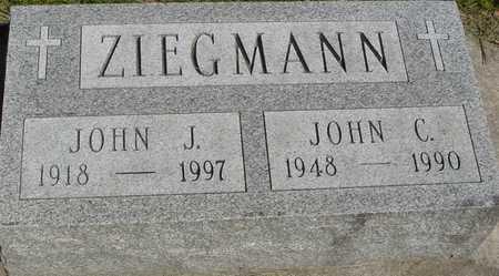 ZIEGMANN, JOHN J.  & JOHN C. - Sac County, Iowa   JOHN J.  & JOHN C. ZIEGMANN