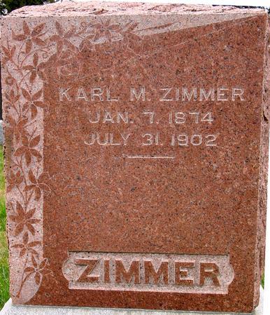 ZIMMER, KARL M. - Sac County, Iowa | KARL M. ZIMMER