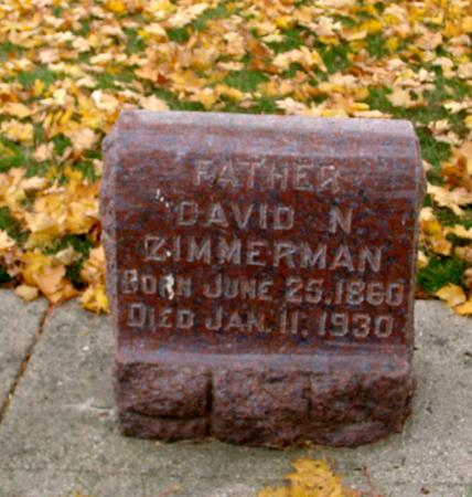 ZIMMERMAN, DAVID N. - Sac County, Iowa | DAVID N. ZIMMERMAN