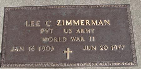 ZIMMERMAN, LEE C. - Sac County, Iowa | LEE C. ZIMMERMAN