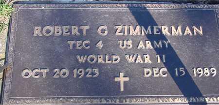 ZIMMERMAN, ROBERT G. - Sac County, Iowa | ROBERT G. ZIMMERMAN