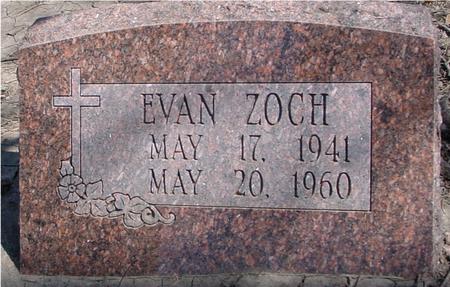 ZOCH, EVAN - Sac County, Iowa | EVAN ZOCH