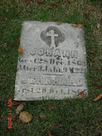 ?, BERNHARD - Scott County, Iowa | BERNHARD ?