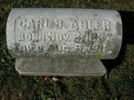 ABLER, CARL B. - Scott County, Iowa | CARL B. ABLER