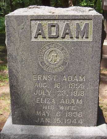 ADAM, ELIZA - Scott County, Iowa | ELIZA ADAM
