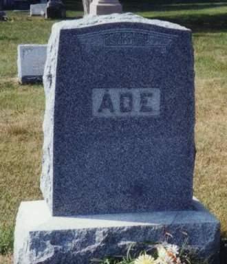 ADE, FAMILY MONUMENT - Scott County, Iowa | FAMILY MONUMENT ADE