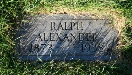 ALEXANDER, RALPH - Scott County, Iowa | RALPH ALEXANDER
