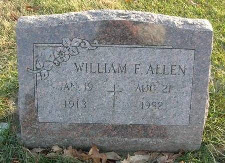 ALLEN, WILLIAM F. - Scott County, Iowa | WILLIAM F. ALLEN