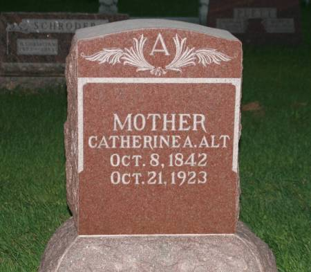 ALT, CATHERINE A. - Scott County, Iowa | CATHERINE A. ALT