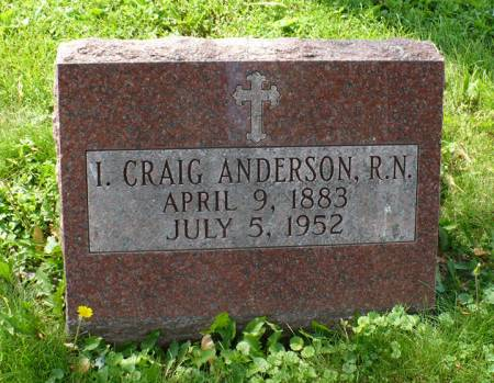 ANDERSON, I. CRAIG - Scott County, Iowa | I. CRAIG ANDERSON
