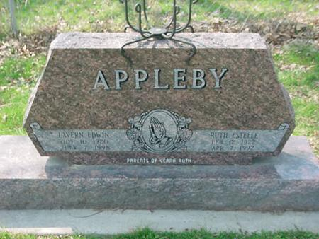 APPLEBY, LAVERN EDWIN - Scott County, Iowa | LAVERN EDWIN APPLEBY