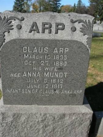 ARP, INFANT SON - Scott County, Iowa | INFANT SON ARP