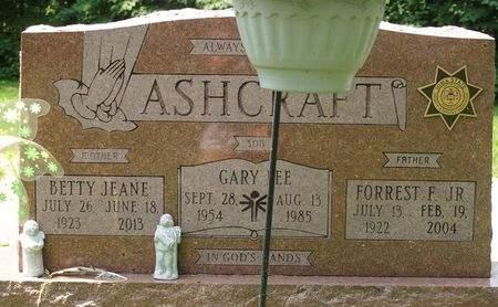 ASHCRAFT, GARY LEE - Scott County, Iowa | GARY LEE ASHCRAFT