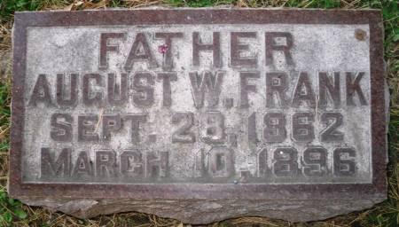 FRANK, AUGUST W. - Scott County, Iowa | AUGUST W. FRANK