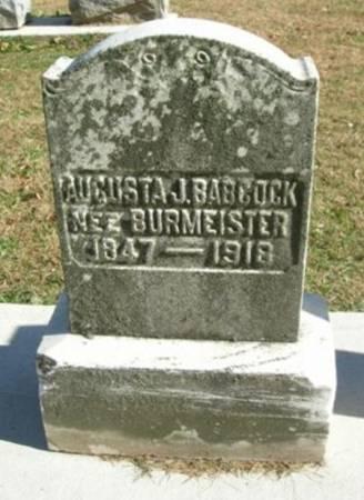 BABCOCK, AUGUSTA J. - Scott County, Iowa | AUGUSTA J. BABCOCK