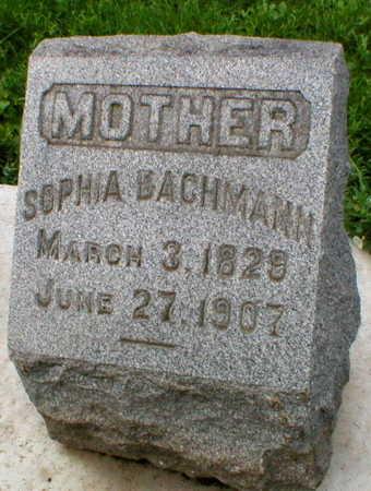 BACHMANN, SOPHIA - Scott County, Iowa | SOPHIA BACHMANN