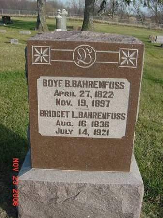 BAHRENFUSS, BRIDGET L - Scott County, Iowa | BRIDGET L BAHRENFUSS