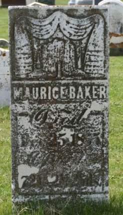 BAKER, MAURICE - Scott County, Iowa | MAURICE BAKER