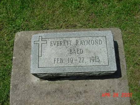BALD, EVERETT RAYMOND - Scott County, Iowa | EVERETT RAYMOND BALD