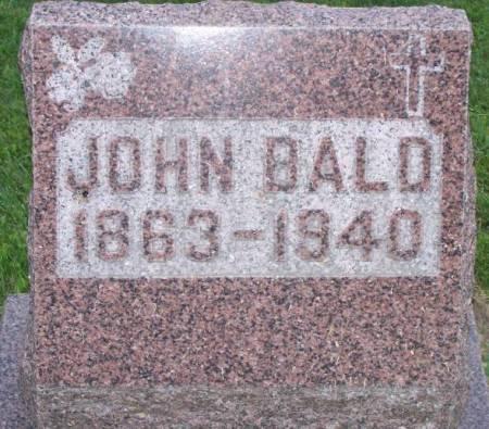 BALD, JOHN - Scott County, Iowa | JOHN BALD
