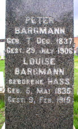 HASS BARGMANN, LOUISE - Scott County, Iowa | LOUISE HASS BARGMANN