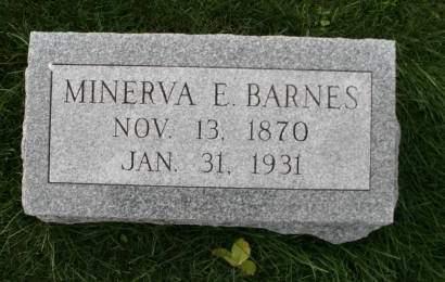 BARNES, MINERVA E. - Scott County, Iowa | MINERVA E. BARNES
