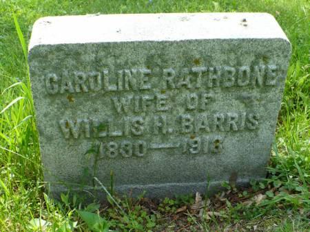 RATHBONE BARRIS, CAROLINE - Scott County, Iowa | CAROLINE RATHBONE BARRIS
