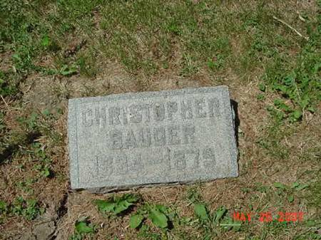 BAUDER, CHRISTOPHER - Scott County, Iowa | CHRISTOPHER BAUDER