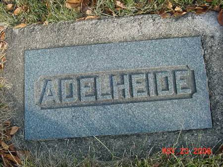 BAUGHMAN, ADELHEIDE - Scott County, Iowa | ADELHEIDE BAUGHMAN