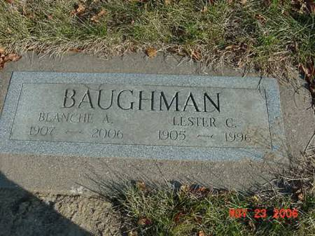 BAUGHMAN, BLANCHE A - Scott County, Iowa | BLANCHE A BAUGHMAN