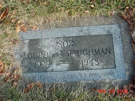 BAUGHMAN, LOURDE C - Scott County, Iowa | LOURDE C BAUGHMAN
