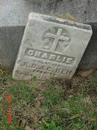 BEH, CHARLIE - Scott County, Iowa   CHARLIE BEH