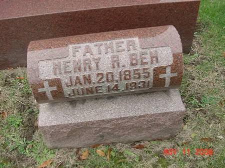 BEH, HENRY R - Scott County, Iowa | HENRY R BEH