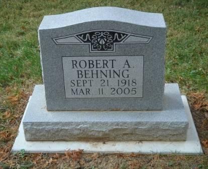 BEHNING, ROBERT - Scott County, Iowa   ROBERT BEHNING