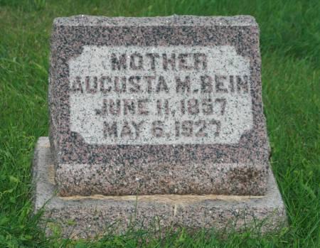 BEIN, AUGUSTA M. - Scott County, Iowa | AUGUSTA M. BEIN