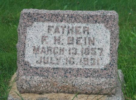 BEIN, FERDINAND H. - Scott County, Iowa | FERDINAND H. BEIN