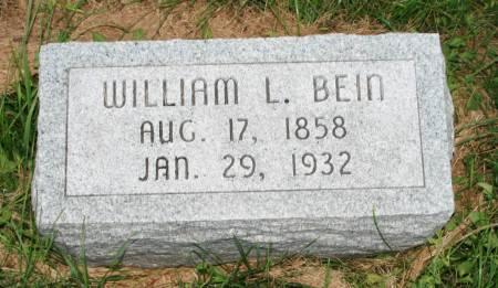BEIN, WILLIAM L. - Scott County, Iowa | WILLIAM L. BEIN