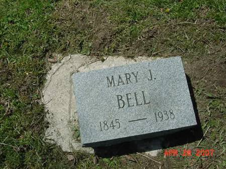 BELL, MARY J - Scott County, Iowa | MARY J BELL