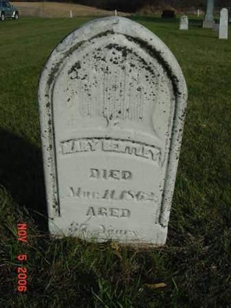 BENTLEY, MARY - Scott County, Iowa | MARY BENTLEY