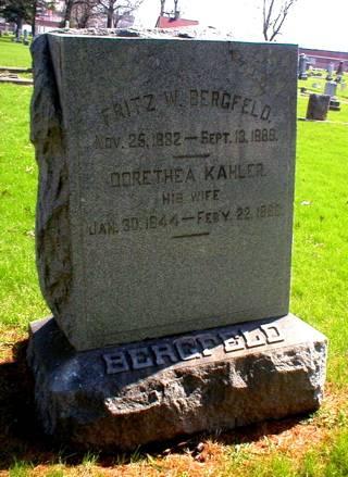 KAHLER BERGFELD, DORETHEA - Scott County, Iowa | DORETHEA KAHLER BERGFELD