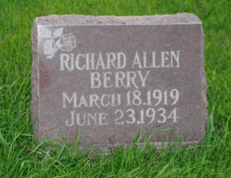 BERRY, RICHARD ALLEN - Scott County, Iowa | RICHARD ALLEN BERRY