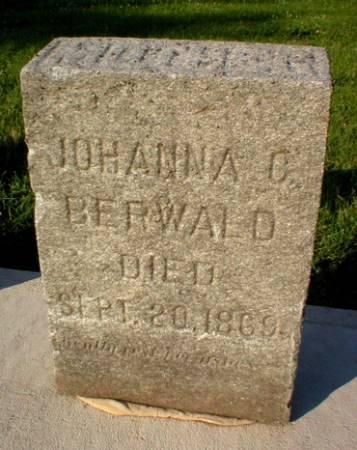 BERWALD, JOHANNA C. - Scott County, Iowa | JOHANNA C. BERWALD