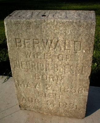 BERWALD, LAURA - Scott County, Iowa | LAURA BERWALD