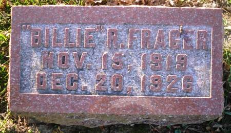 FRAGER, BILLIE R. - Scott County, Iowa | BILLIE R. FRAGER