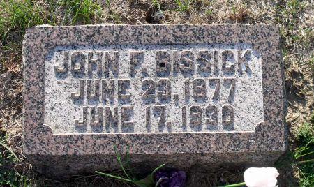 BISSICK, JOHN F. - Scott County, Iowa   JOHN F. BISSICK