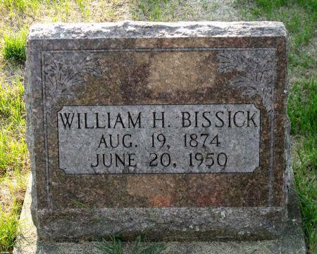 BISSICK, WILLIAM H. - Scott County, Iowa   WILLIAM H. BISSICK