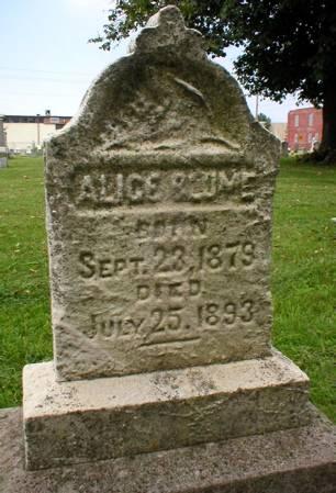 BLUME, ALICE - Scott County, Iowa | ALICE BLUME