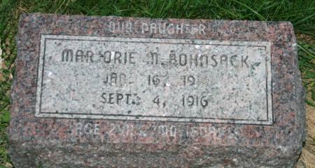 BOHNSACK, MARJORIE M. - Scott County, Iowa | MARJORIE M. BOHNSACK