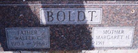 BOLDT, WALTER C. - Scott County, Iowa | WALTER C. BOLDT