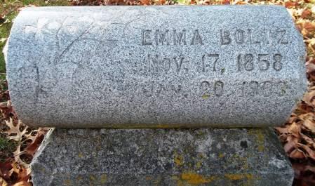 BOLTZ, EMMA - Scott County, Iowa | EMMA BOLTZ